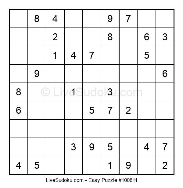 Beginners Puzzle #100811