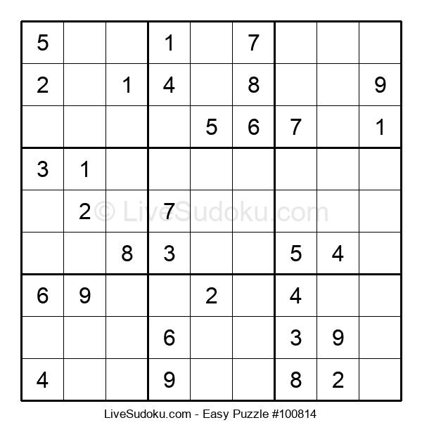 Beginners Puzzle #100814