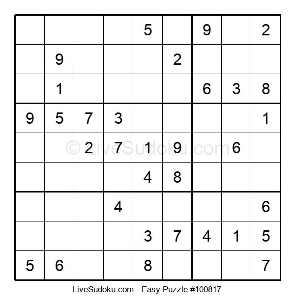 Beginners Puzzle #100817