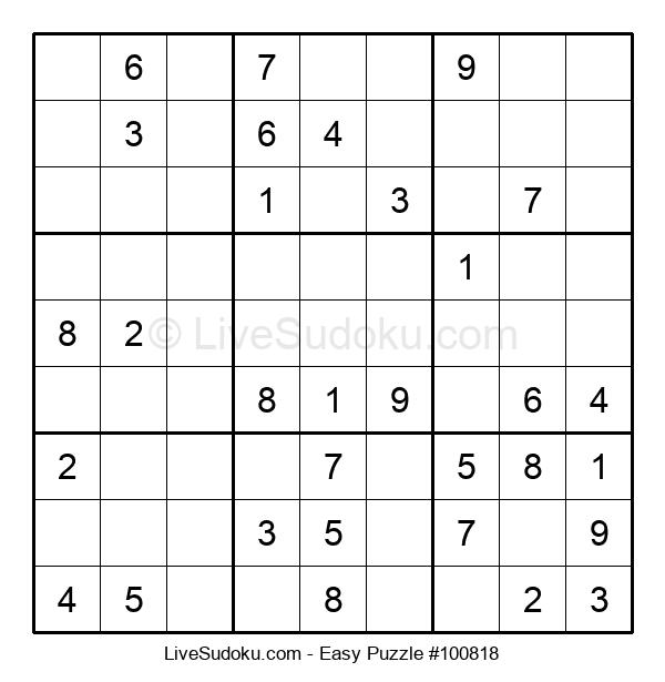 Beginners Puzzle #100818