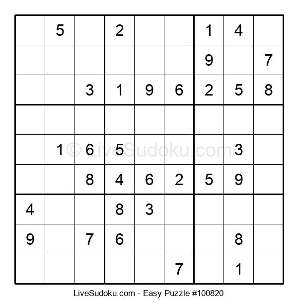 Beginners Puzzle #100820