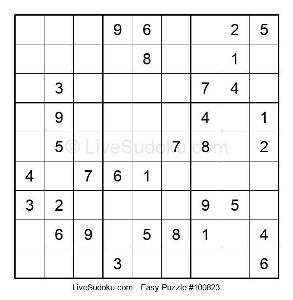 Beginners Puzzle #100823
