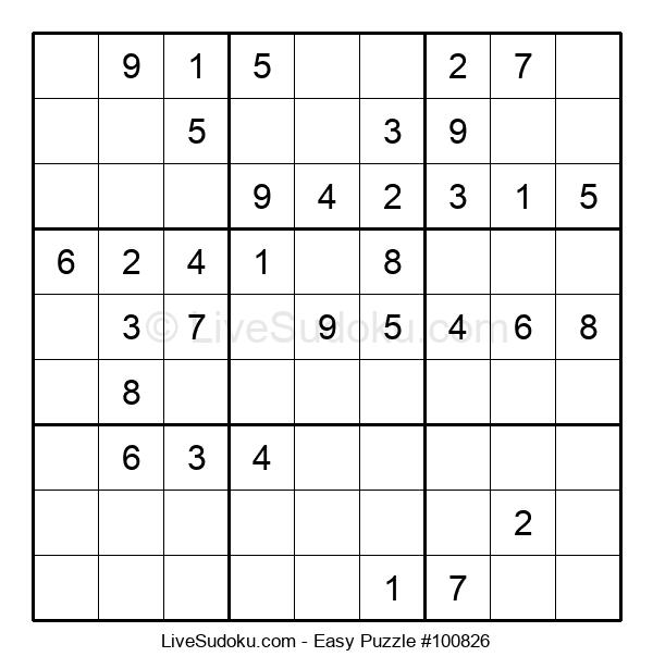 Beginners Puzzle #100826