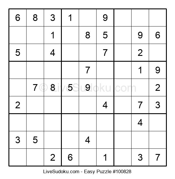 Beginners Puzzle #100828