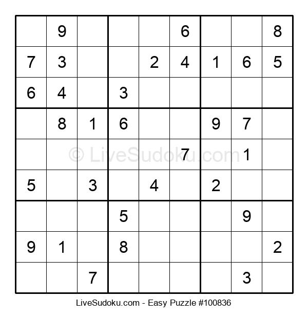 Beginners Puzzle #100836