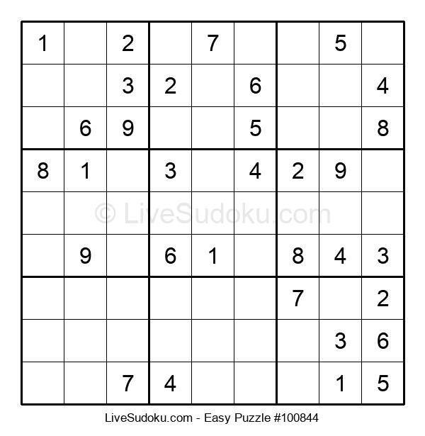 Beginners Puzzle #100844