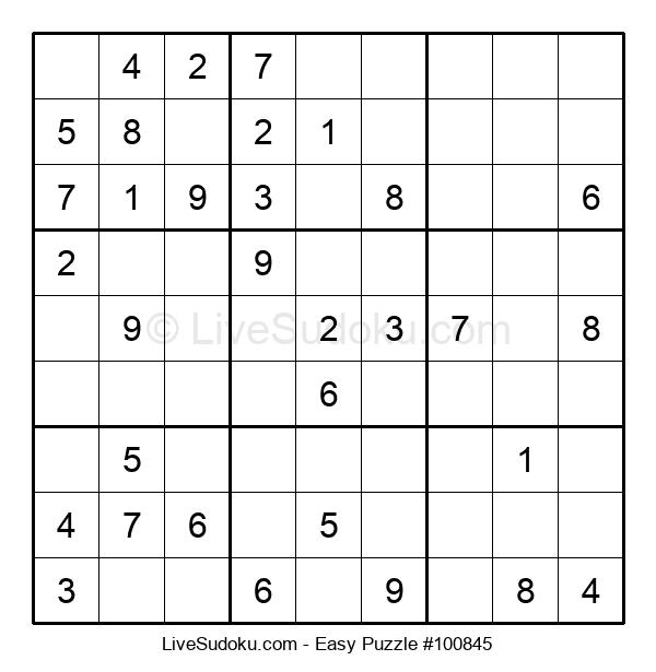 Beginners Puzzle #100845