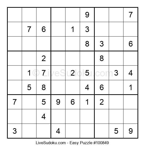 Beginners Puzzle #100849