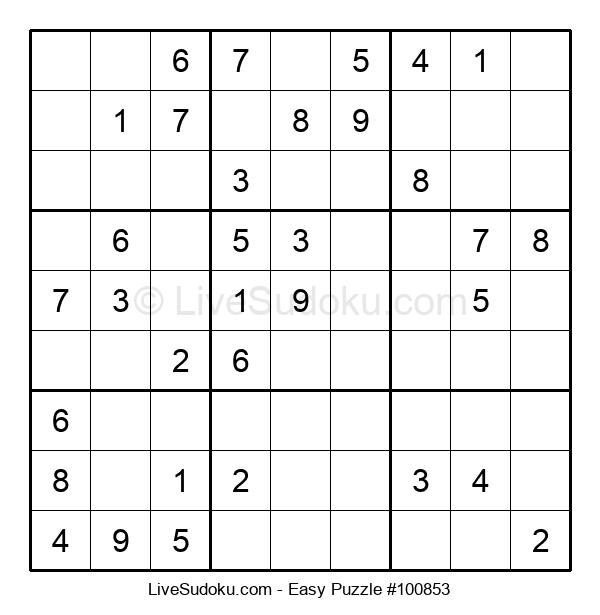 Beginners Puzzle #100853