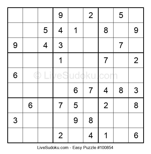 Beginners Puzzle #100854