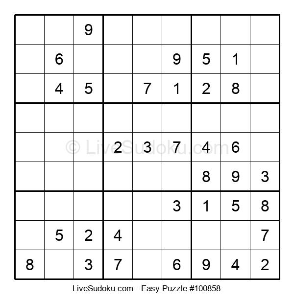 Beginners Puzzle #100858