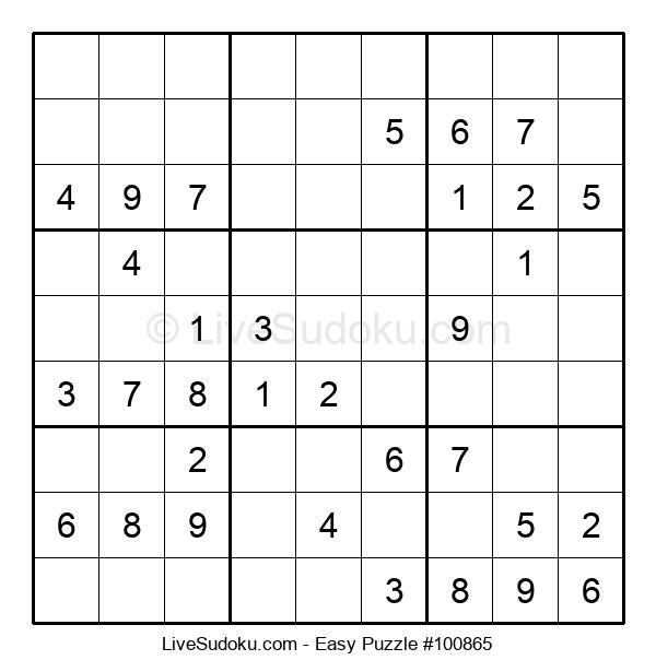 Beginners Puzzle #100865