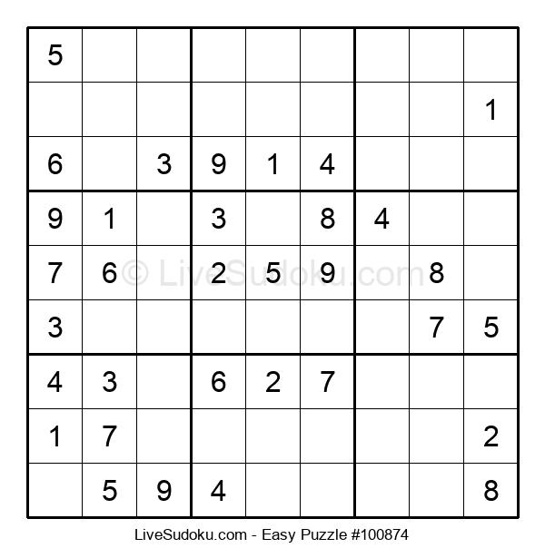 Beginners Puzzle #100874