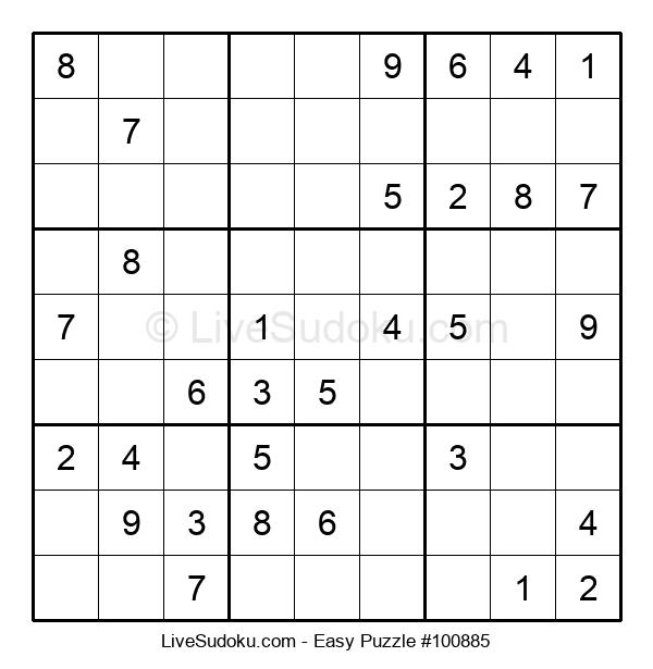 Beginners Puzzle #100885