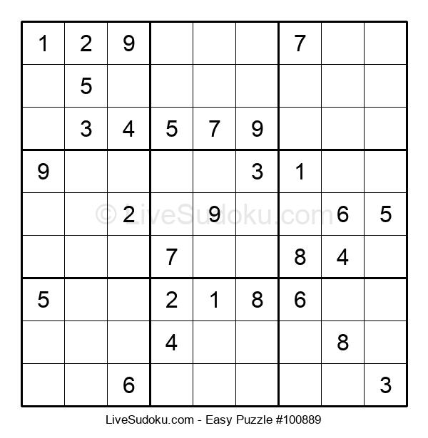 Beginners Puzzle #100889