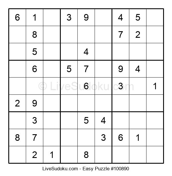 Beginners Puzzle #100890