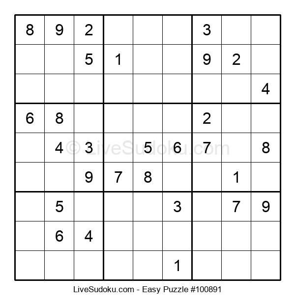 Beginners Puzzle #100891