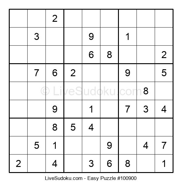 Beginners Puzzle #100900