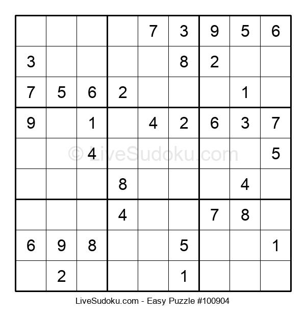 Beginners Puzzle #100904