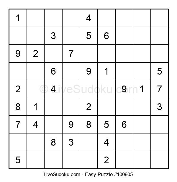 Beginners Puzzle #100905