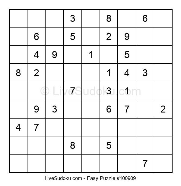Beginners Puzzle #100909