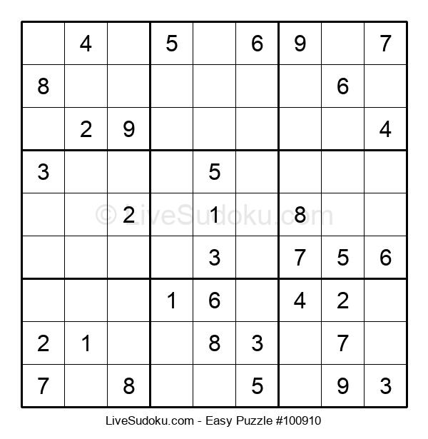 Beginners Puzzle #100910