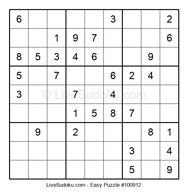 Beginners Puzzle #100912
