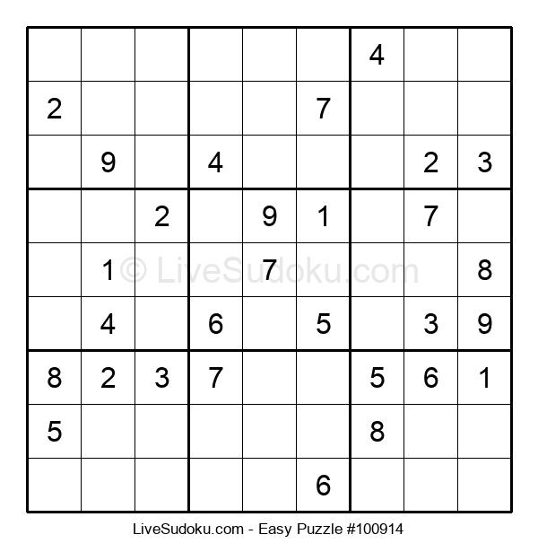 Beginners Puzzle #100914