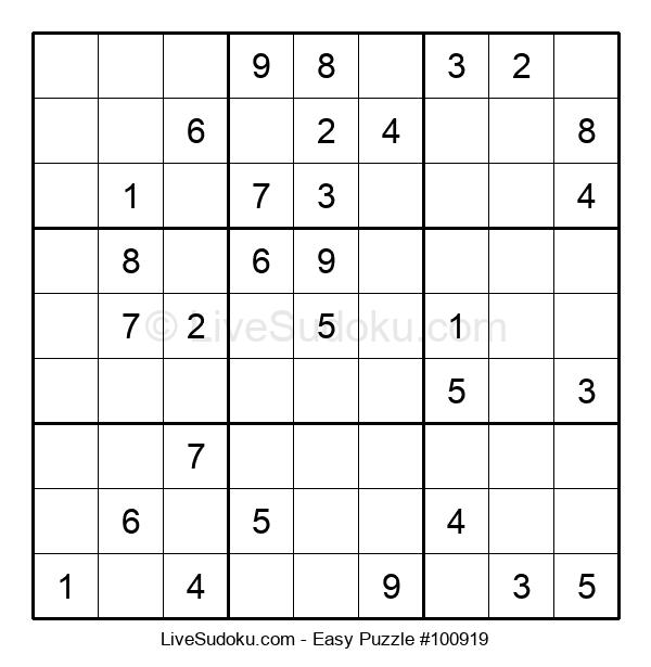 Beginners Puzzle #100919