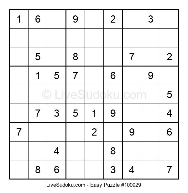 Beginners Puzzle #100929