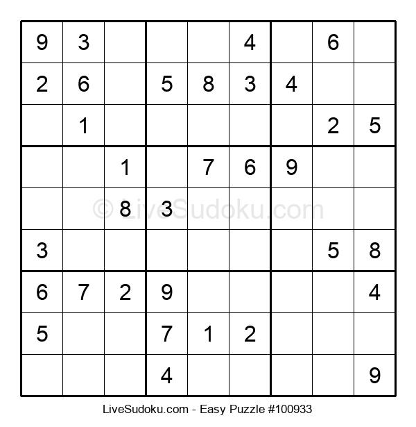 Beginners Puzzle #100933