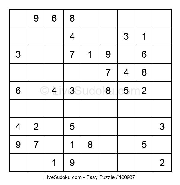 Beginners Puzzle #100937