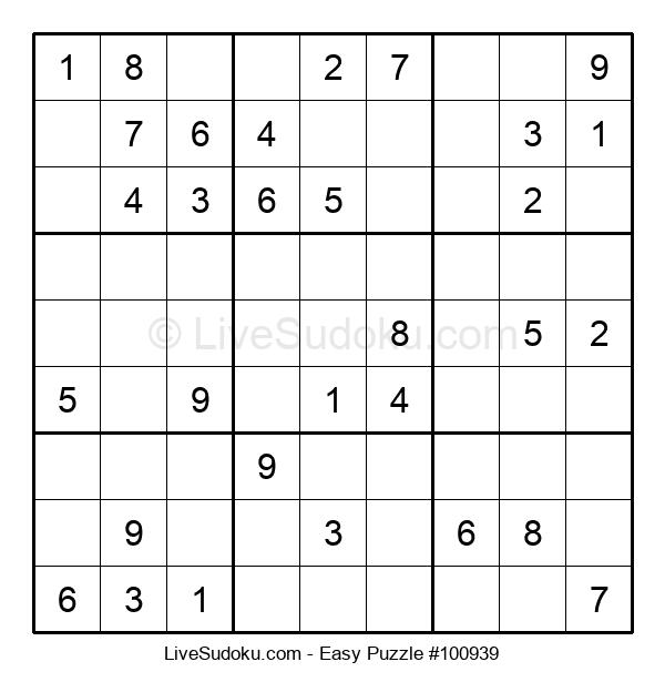 Beginners Puzzle #100939