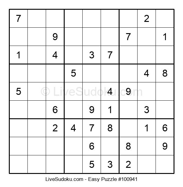 Beginners Puzzle #100941