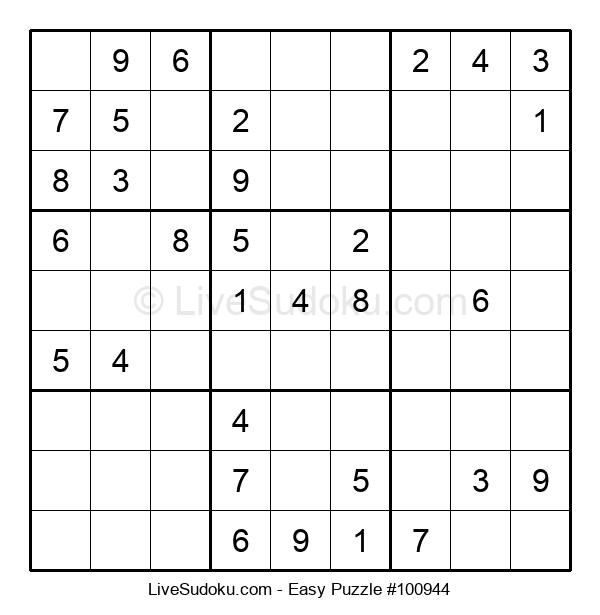 Beginners Puzzle #100944