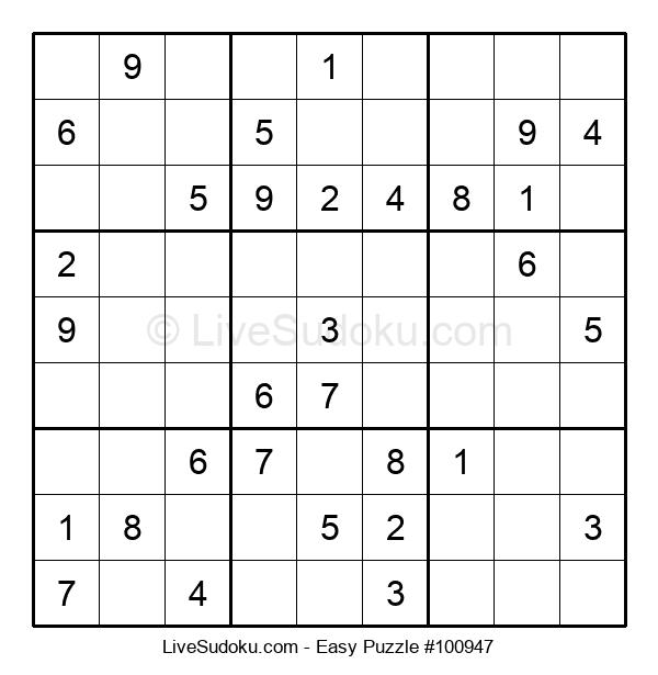 Beginners Puzzle #100947