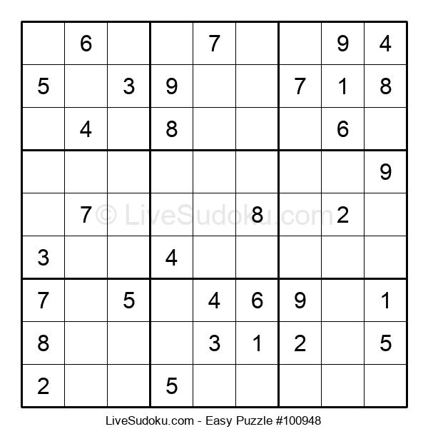 Beginners Puzzle #100948