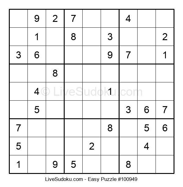 Beginners Puzzle #100949