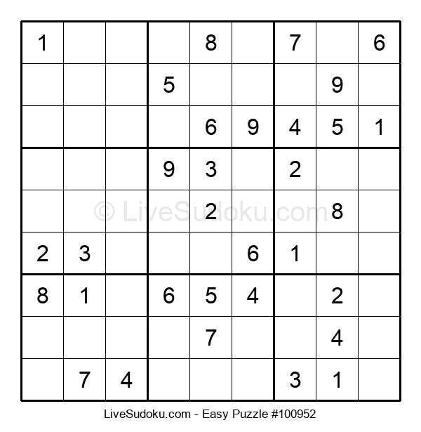 Beginners Puzzle #100952