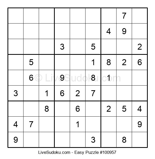 Beginners Puzzle #100957