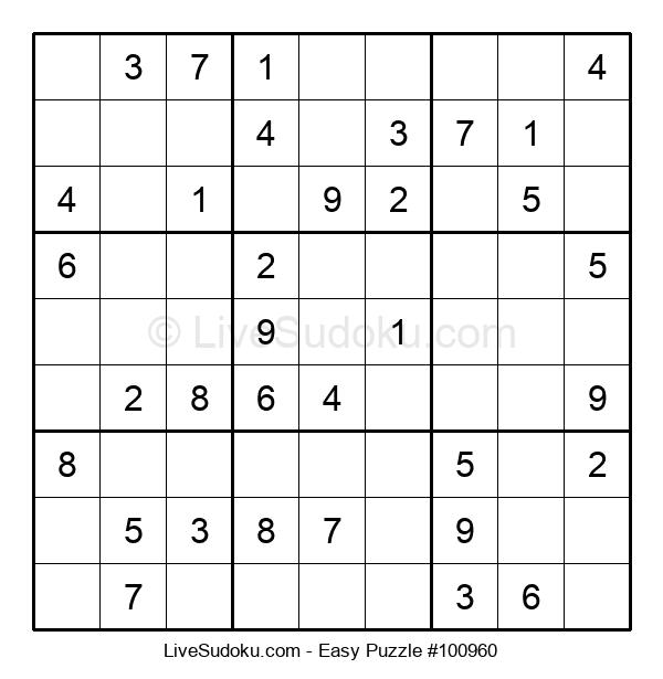 Beginners Puzzle #100960