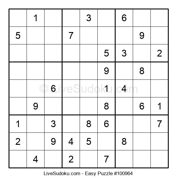 Beginners Puzzle #100964