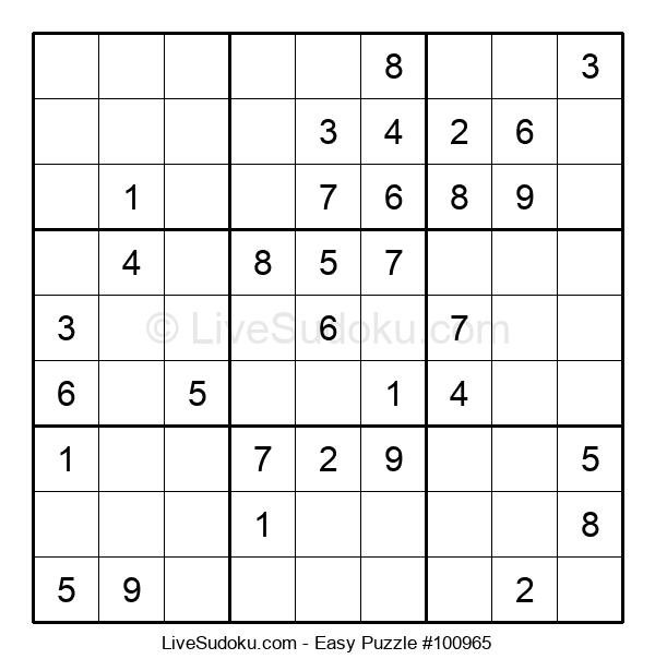 Beginners Puzzle #100965
