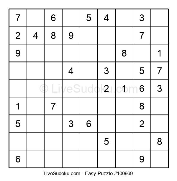 Beginners Puzzle #100969