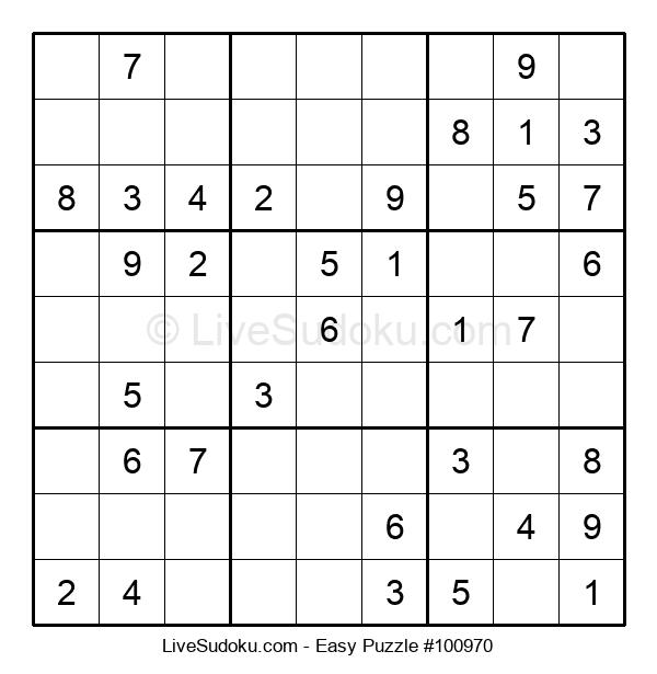 Beginners Puzzle #100970