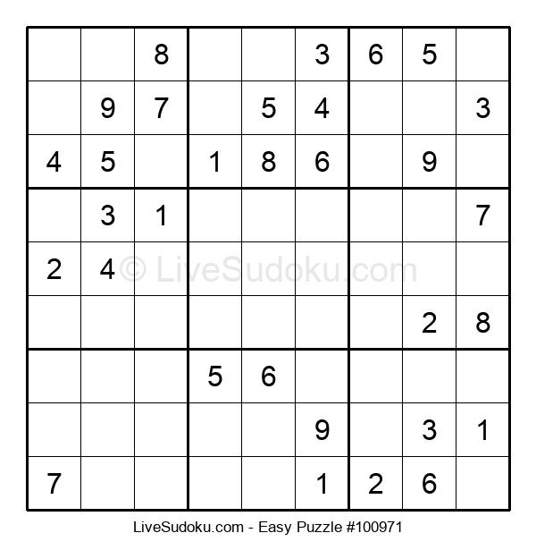 Beginners Puzzle #100971