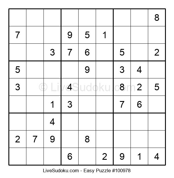 Beginners Puzzle #100978