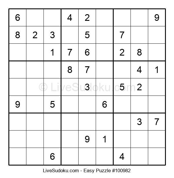 Beginners Puzzle #100982