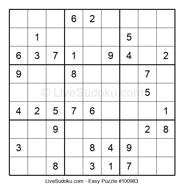 Beginners Puzzle #100983