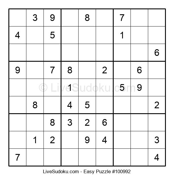 Beginners Puzzle #100992